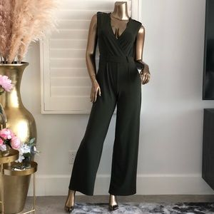 More Than Enough Jumpsuit- Olive